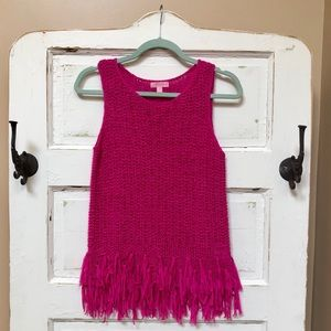 NWOT Lilly Pulitzer Sweater Tank